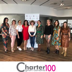 Nueva junta directiva de Charter 100 Gran Canaria.