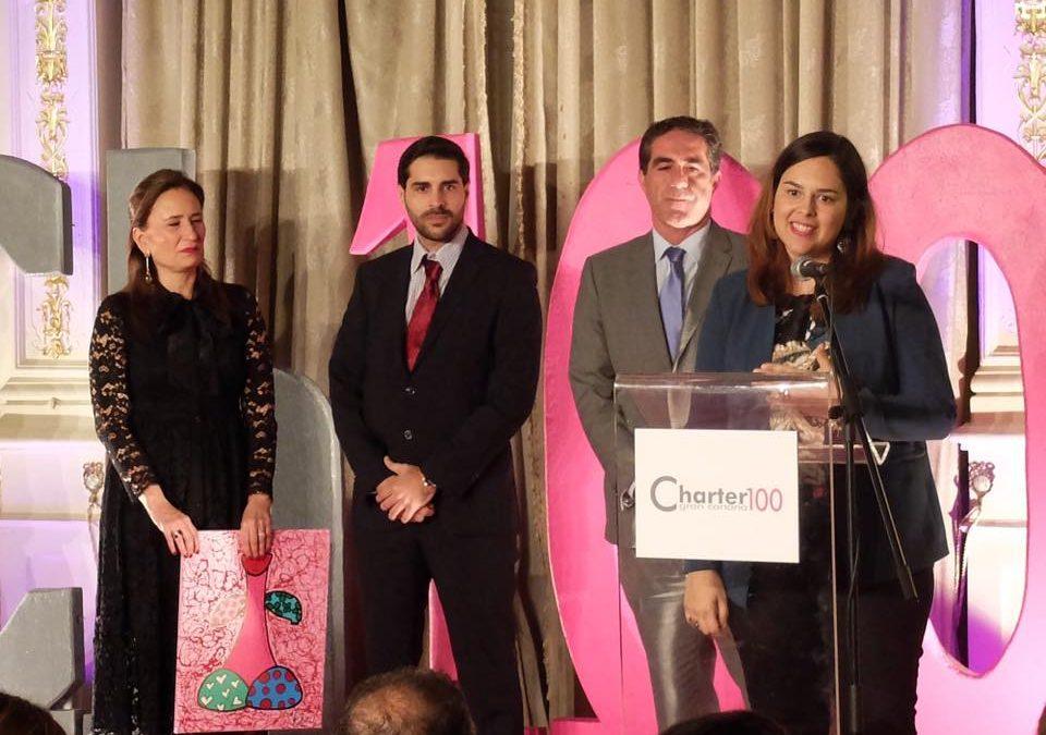 Premio Charter100 Trayectoria Profesional 2017,  Rosa Delia González