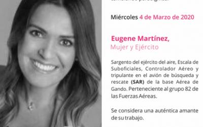 Eugene Martínez, mujer en el Ejército del Aire y escritora