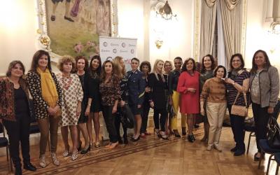 5º aniversario y Día de la Mujer en Charter 100 GC