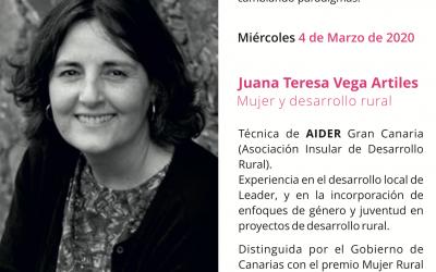 Juana Teresa Vega, una visión real sobre mujer y desarrollo rural