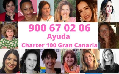 Charter 100 Gran Canaria ofrece ayuda telefónica gratis